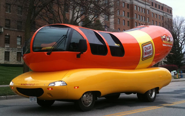 Oscar Mayer Weinermobile in Minnesota
