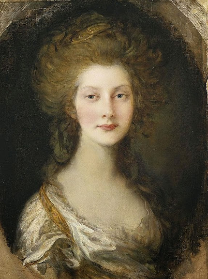 Thomas Gainsborough - Portrait of Princess Augusta aged 13 in 1782