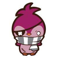 Spitzen the Purple Penguin