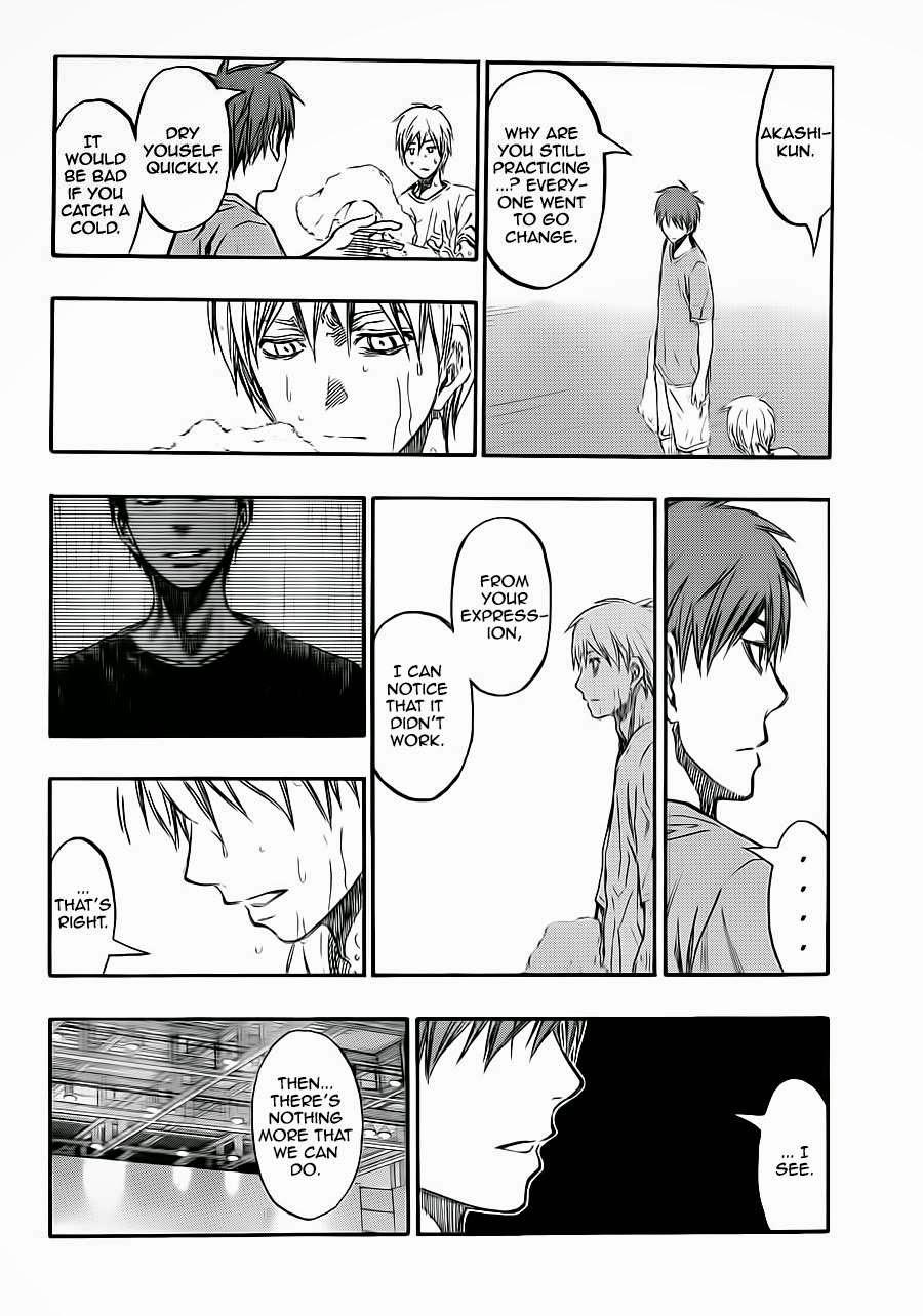 Kuroko no Basket Manga Chapter 221 - Image 16