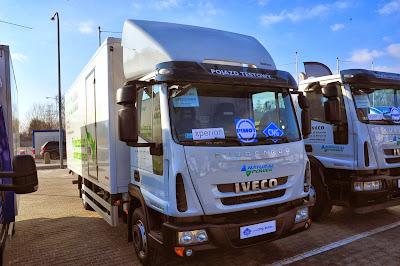 Iveco to lider sprzedaży aut CNG w Polsce. Dominacja aut tej marki zauważalna była również na wystawie pojazdów