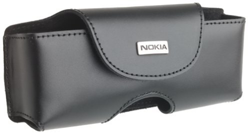 Nokia Hard Leather Case with Flap and Belt Clip for Nokia 9290