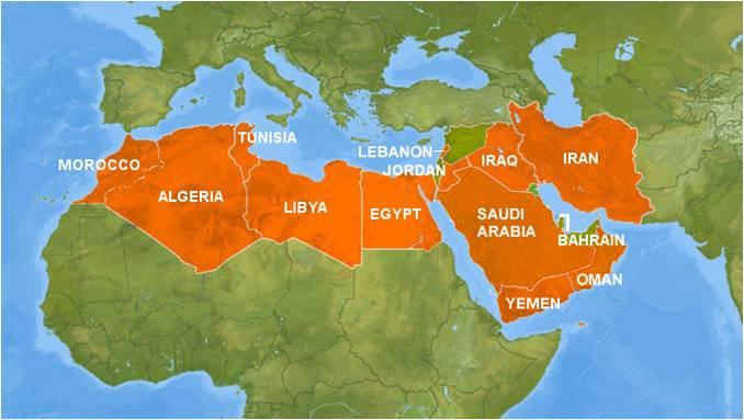 Pierluca Birindelli MENA Middle East North Africa Turmoil