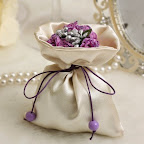 Satin Pouch Favour Bags