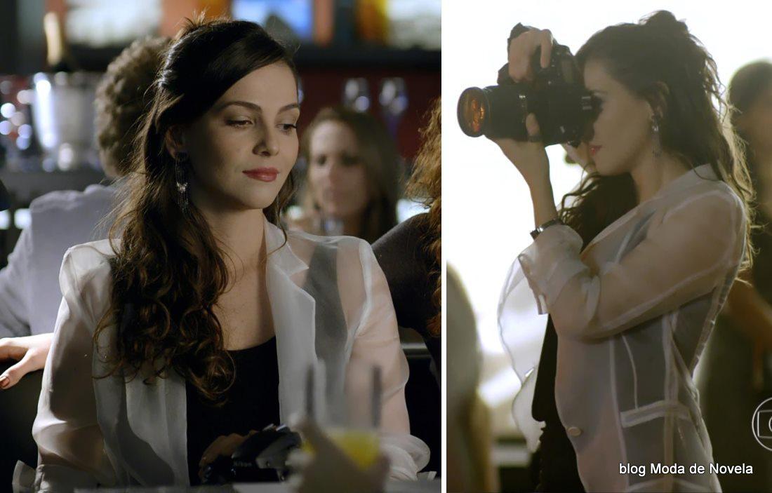 moda da novela Em Família - look da Marina dia 28 de abril