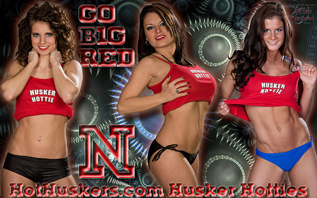 Hot Huskers Go Big Red Wallpaper