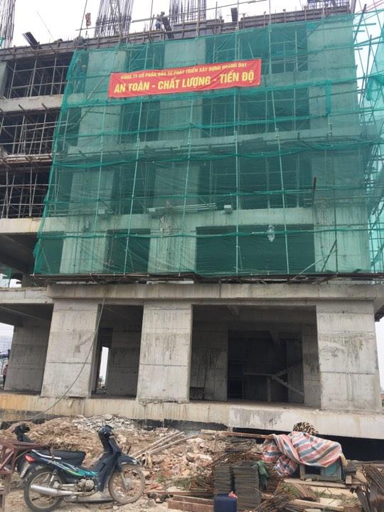 Tiến độ xây dựng tòa HH03C chung cư B1.3 Thanh Hà
