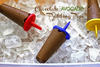 It Bakes Me Happy: Chocolate Avocado Pudding Pops