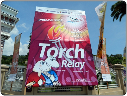 National Torch Relay SEA Games 2011