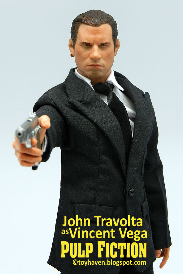 John Travolta as Vincent Vega