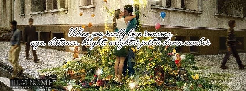 Cover Facebook tình yêu tiếng Anh