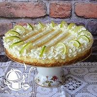 tarta limonkowa- wykwintna