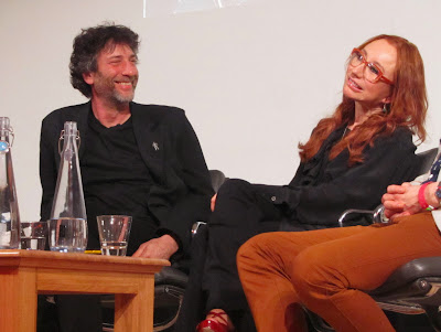 Neil Gaiman and Tori Amos at the British Library