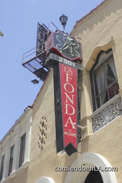 La Fonda, Los Ángeles