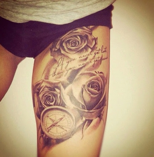 tattoo for leg
