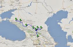 Krasnodar - Tbilisi andata e ritorno