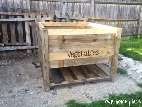 Our Home Place Vegetable Garden Box