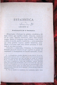 Etimología de estadística