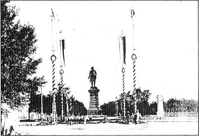 Памятник с крестом на просвет Грязи Цоколь из габбро-диабаза Бабушкин