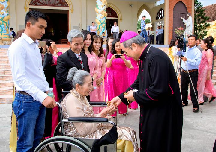Thánh lễ kỷ niệm 50 hôn phối ông bà cố Cha Phêrô Nguyễn Viết Duy