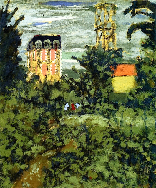 Édouard Vuillard - Near Paris