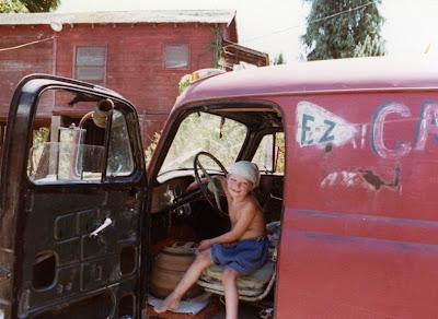Child in Van