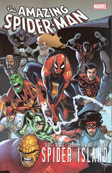 Spider-Man: Spider-Island cover