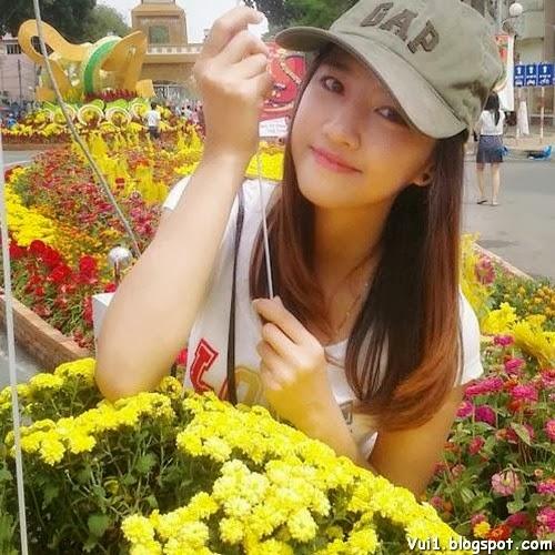 Anh girl xinh 9x cuc cute co net dep baby - hinh 4
