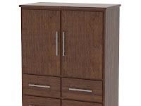 Walnut Armoire Dressers