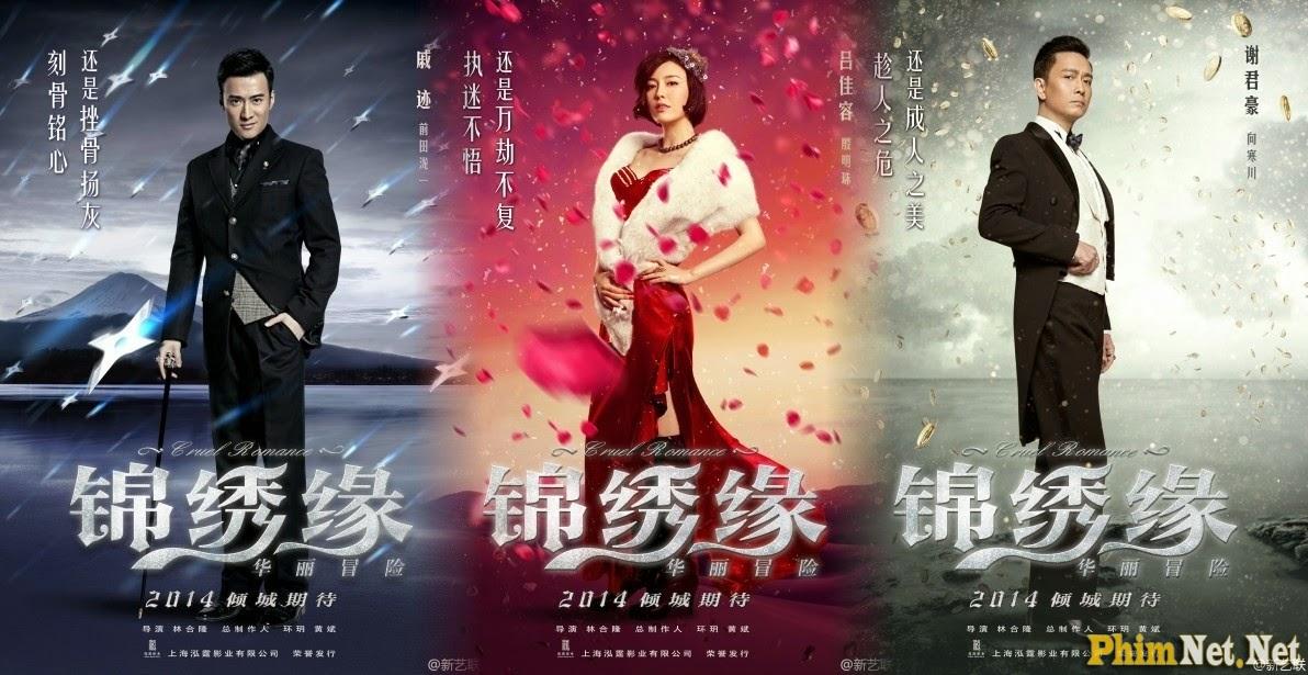 Xem Phim Cẩm Tú Duyên - Hoa Lệ Mạo Hiểm - Cruel Romance - Wallpaper Full HD - Hình nền lớn