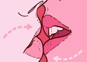 Besos apasionados beso frances