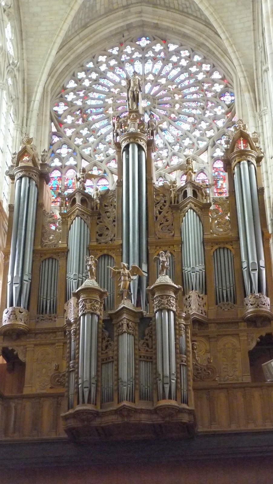 Órgano, Saint Gatien de Tours, Tours, Francia, Elisa N, Blog de Viajes, Lifestyle, Travel
