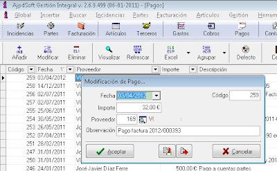 Pagos - AjpdSoft Gestión Integral