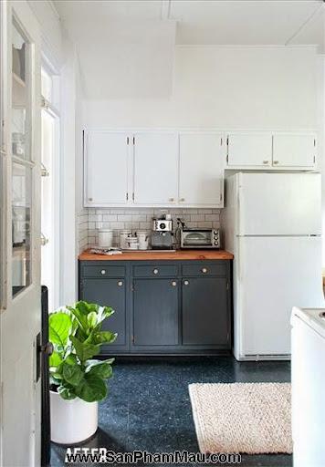 4 phòng bếp tuyệt đẹp chỉ nhờ thay đổi màu sơn-5