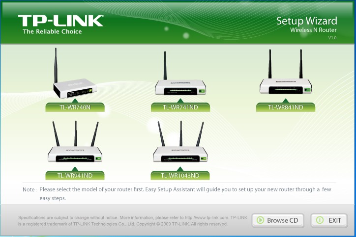 TP-Link Wireless Lite-N Router TL- WR741ND