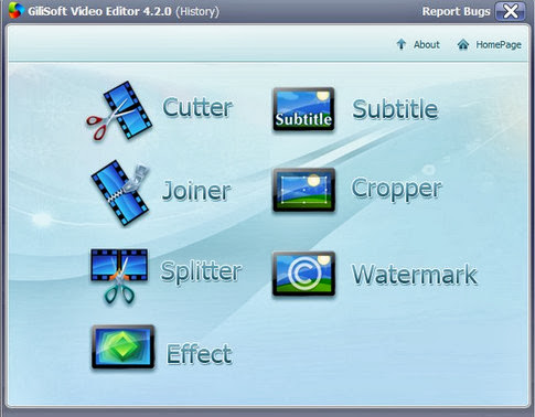 GiliSoft Video Editor 4.6.0 - Corta, une o divide tus v�deos