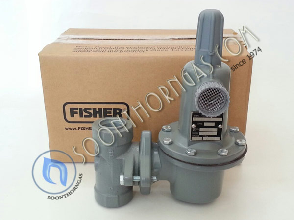 HIGH-PRESSURE REGULATOR FISHER รุ่น FS 627/497