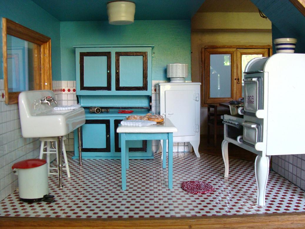 Doll House Kitchen. Excellent Click To Enlarge With Doll House ...
