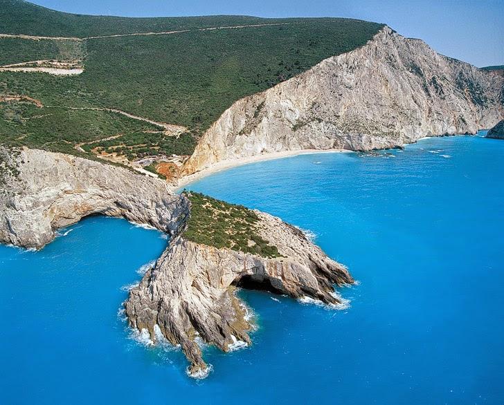 Porto Katsiki Beach (15 Most Beautiful Beaches in Greece).