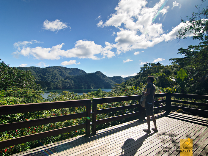 Canteen Viewing Deck at the Twin Lakes of Balinsasayao