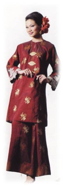 Baju Kurung Pahang (songket)