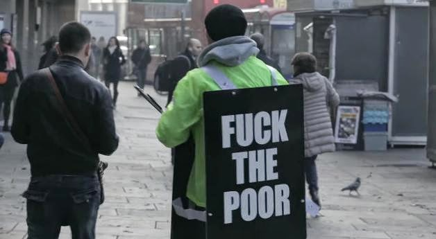 "The Pilion Trust Charity ""Fuck The Poor"" Advert"