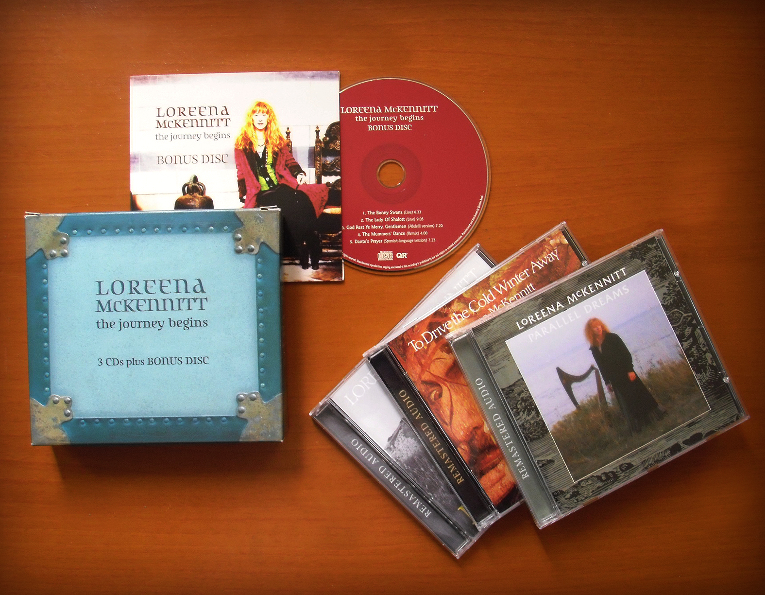 loreena mckennitt collection 2005 the journey begins b u0026n