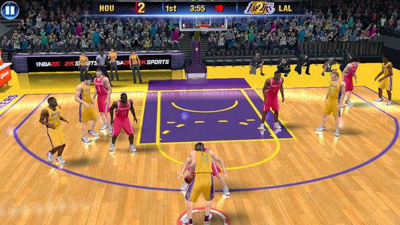 NBA 2K14 v1.1.5 for iPhone/iPad