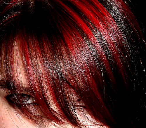 Dark brown hair with bright red highlights brown hairs dark brown hair with red highlights lh4 googleusercontent com bright pmusecretfo Images