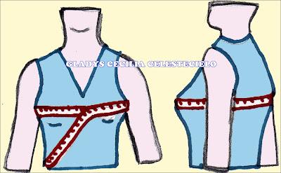 Debajo de las blusas de las modistas debajo de la blusa de tailoress 9