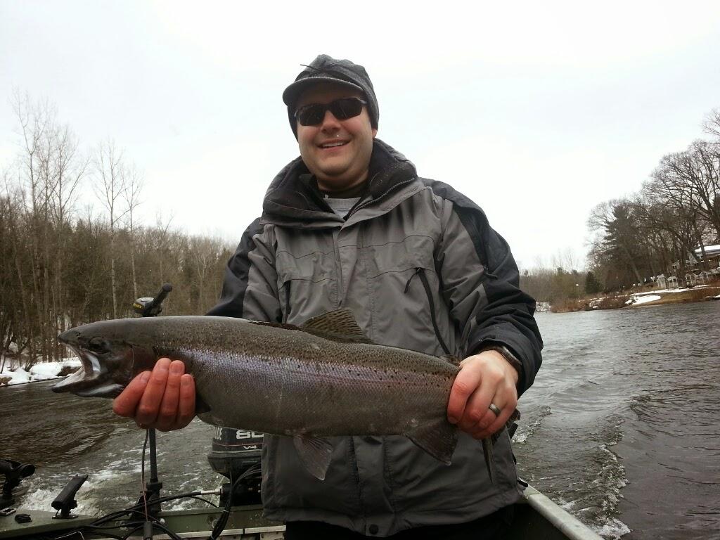 muskegon river fishing charters