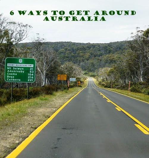 6 Ways to Get Around Australia - travel tips
