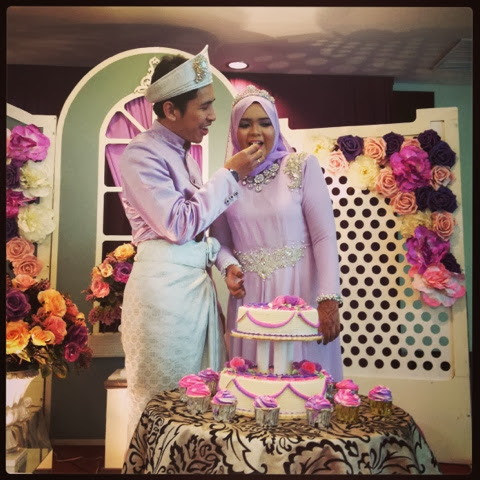 Shuhada & Iqram Wedding day