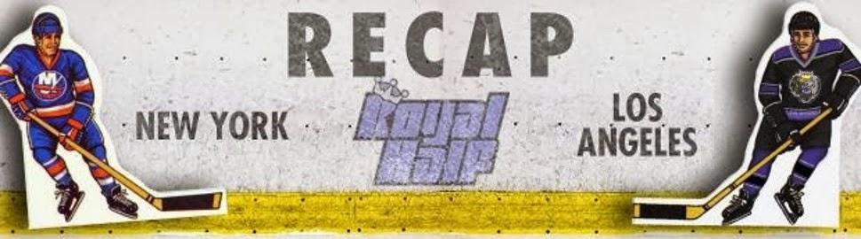 LA Kings NY Islanders Recap